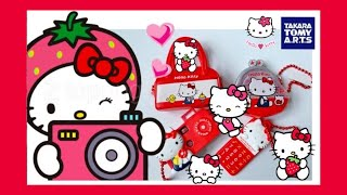 SUPER CUTE UNBOXING | Hello Kitty Surprise Eggs Toys | TAKARA TOMY A.R.T.S. | 凯蒂猫扭蛋 | ハローキティ