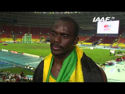 Moscow 2013 - Nesta CARTER JAM - 100m Men Final - Bronze