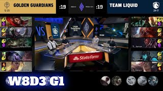Golden Guardians vs Team Liquid   Week 8 Day 3 S11 LCS Summer 2021   GG vs TL W8D3 Full Game