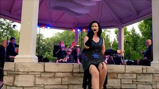 The Jimmy Stahl Big Band with Genevieve-Renee Bisson-Fever and Skylark