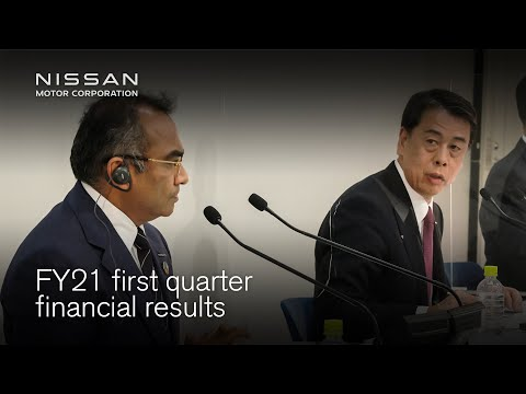 Live: FY21 first quarter financial results announcement