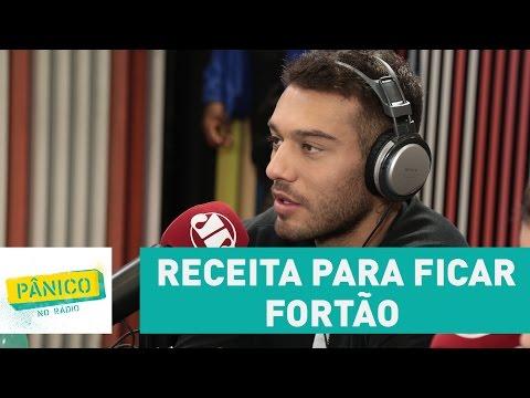 Receita para ficar fortão: Lucas Lucco mostra sua dieta diária | Pânico