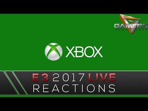 E3 2017 Microsoft Live Reactions