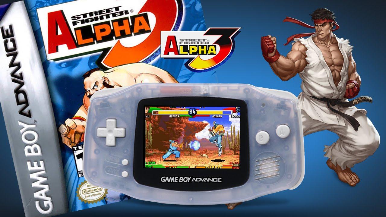 Street Fighter Alpha 3 Gameplay Gameboy Advance Youtube