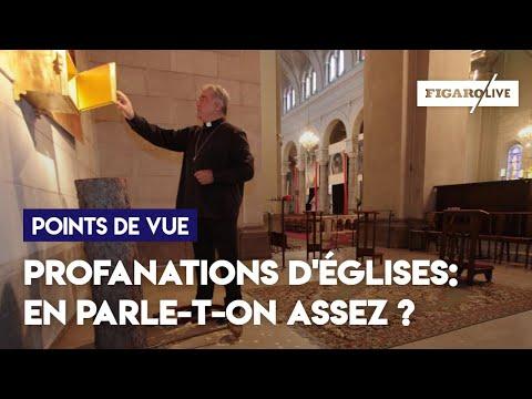 Profanations d'églises :