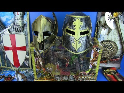 Swords Toys For Kids !!! Toy Swords Collection & Equipment ,castle And Weapons Toys