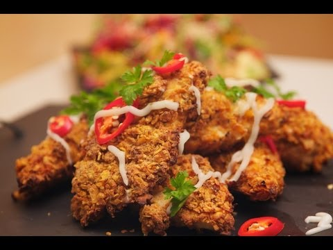 How To Make Crispy Crunchy Oven Baked Chicken