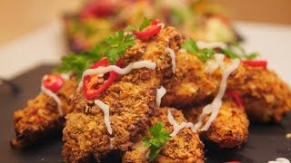 How to make Crİspy Crunchy Oven Baked Chicken