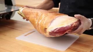 English Tutorial Discover the Origin Slicing Parma Ham