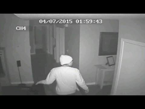 Home Invasion Caught on 16 Surveillance Cameras