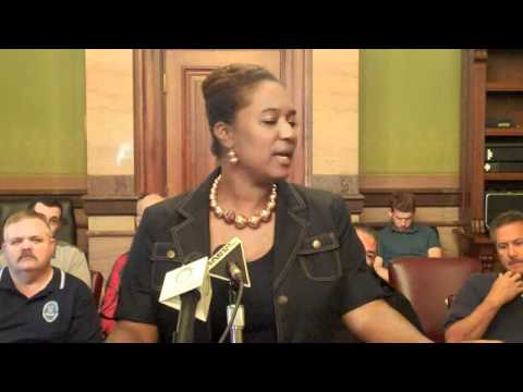 Polk County Democrats' Press Conference with WI State Senator Lena Taylor