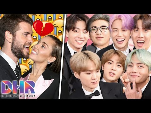 Celebs RESPOND To Miley Cyrus & Liam Hemsworth Split! Army REACTS To BTS Taking A Break! (DHR)