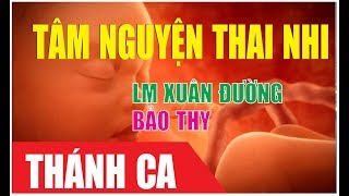 [MV] TÂM NGUYỆN THAI NHI - Lm. Xuân Đường