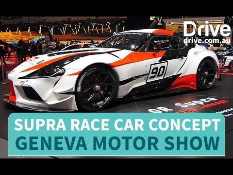 Toyota Unveils Supra Race Car Concept   Drive.com.au - Dauer: 46 Sekunden