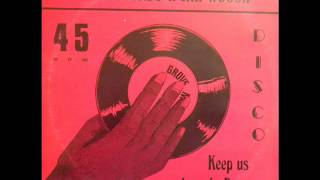 "Grove Music 12"" - king sounds with jah woosh- keep us down in poverty"