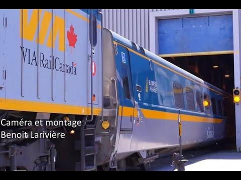 Via Rail LRC Overhaul Project 2016