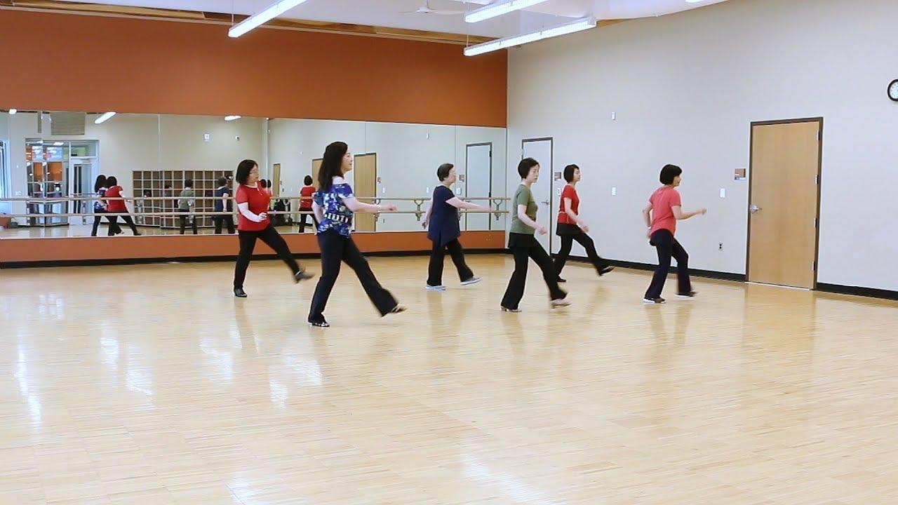 Bosa Nova - Line Dance (Dance & Teach)
