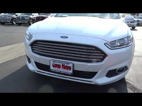 2015 ford fusion redding eureka red bluff northern for Crown motors redding ford