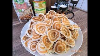 BÁNH TAI HEO - Bí quyết làm món Bánh Tai Heo giòn ngon KHÔNG cứng- Bánh của tuổi thơ by Vanh Khuyen