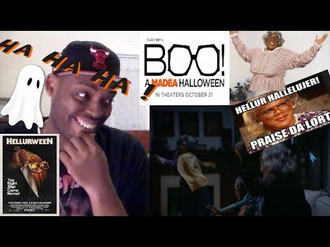 Boo! A Madea Halloween Official Trailer 1 (2016) - Tyler Perry Movie REACTION!!!