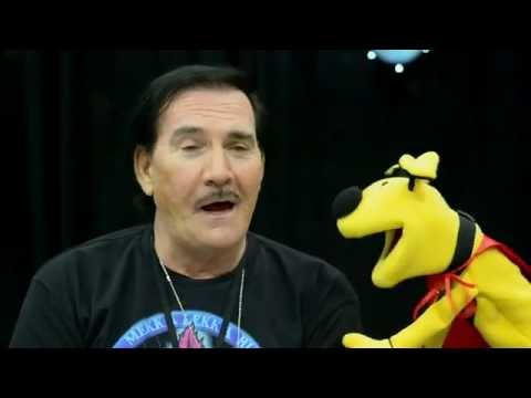 That time actor John Paragon, Jambi the Genie, talked to a puppet at the 2015 Comikaze Expo.