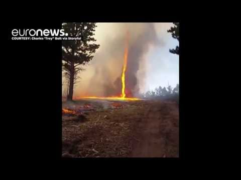 'Firenado' forms amid Colorado wildfire