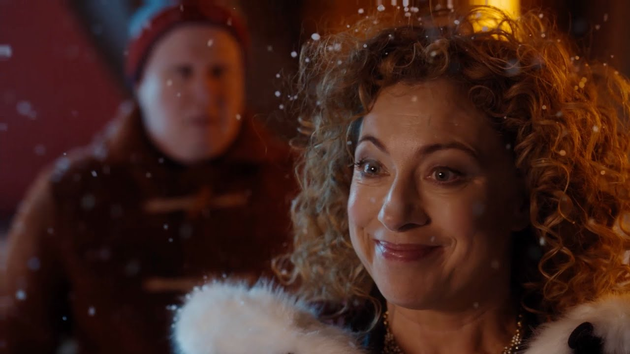 The Doctor reunites with River - The Husbands of River Song ...