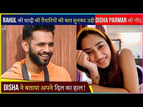 Download Disha Parmar Gets Sleepless Nights After Hearing Rahul Vaidya's Wedding Preparation News?