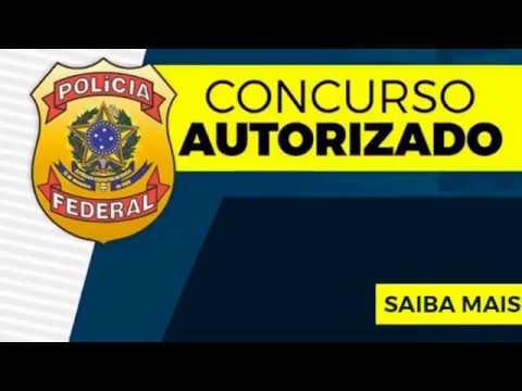 Concurso da Polícia Federal AUTORIZADO - EDITAL A QUALQUER MOMENTO - AlfaCon Concursos Públicos