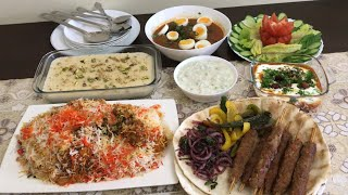 Dawat Vlog ~ Friday ko hamare ghar p thi dawat || Turkish kabab, tikka biryani, Dahi bengan, kofte