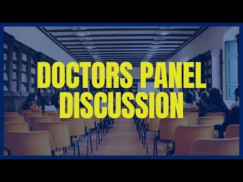 Doctors panel discussion