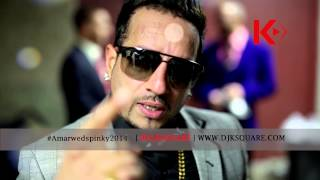 amar pinky most entertaining wedding of the year jazzy b dj k square