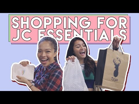 SHOPPING FOR JC ESSENTIALS + GIVEAWAY! (FOREVER 21 + TYPO + SCAPE) | PrettySmart