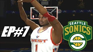 CRAZY ALL STAR GAME - Seattle Supersonics Rebuild - NBA Live 2005 Dynasty ep6