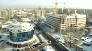 Архангельск Russian toy city Arkhangelsk tilt-shift (Sony)