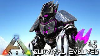 ARK: SURVIVAL EVOLVED - GIANT TEK GORILLA CRAZY POWERFUL !!! ETERNAL PROMETHEUS TUNGUSKA E15
