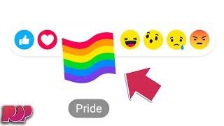 The Secret Behind Facebook's Pride button
