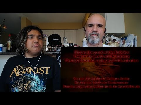 Sabaton - The Last Stand (Lyric Video) [Reaction/Review]