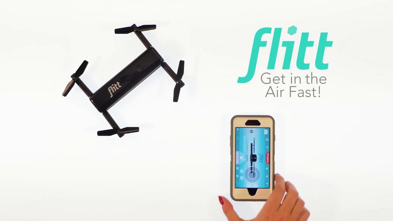 flitt selfie drone