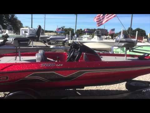My New Nitro 1998 700 LX Bass Boat - YouTube