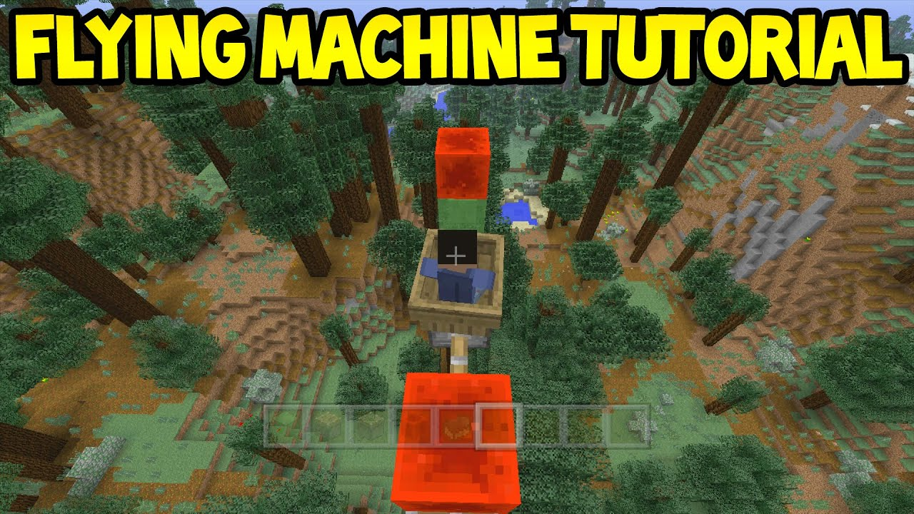 how to make a plane in minecraft xbox 360 that works