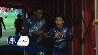 Man Utd 1-2 Arsenal - Tunnel Cam (FA Cup 6th Round) | Inside Access