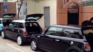Video Aerial view of Mini Coopers by DIY camera helicopter download MP3, 3GP, MP4, WEBM, AVI, FLV November 2017