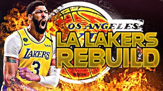BLOWING UP THE LAKERS REBUILD! (NBA 2K20)