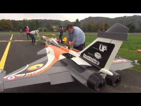 RC Jet Model DASSAULT RAFALE twin Turbine Engine Fighter Aircraft