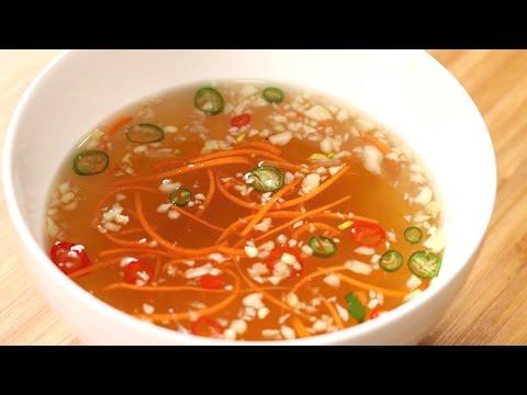 How To Make Vietnamese Dipping Sauce | Nuoc Cham | Cách Pha Nước Mắm Ngon | Cách Pha Nước Chấm