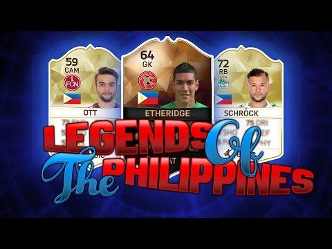 FIFA 16 ULTIMATE TEAM - PHILIPPINES SQUAD BUILDER