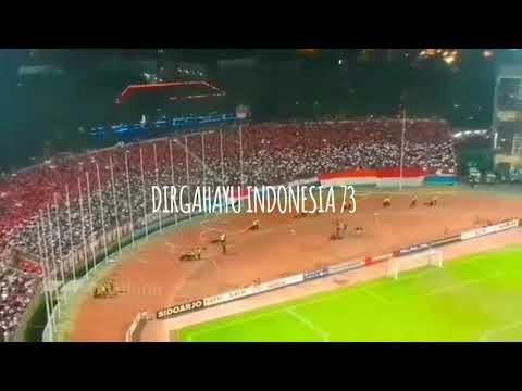 """""""TANAH AIR KU"""" Koreo 3d Suporter Indonesia"""
