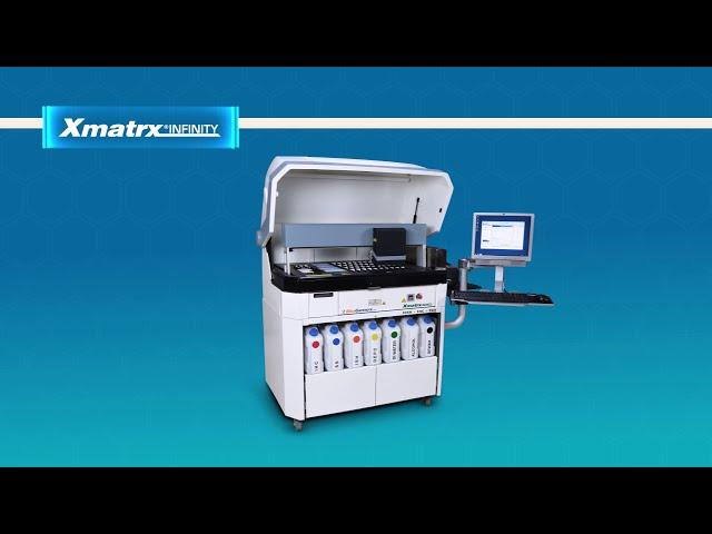 Xmatrx® Infinity is a fully automated molecular pathology workstation