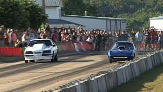 LEGAL STREET RACING - Small Tire - Hartshorne Street Drags